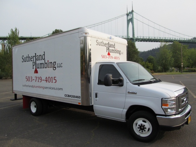 "At Sutherland Plumbing, we do it ""by the book."" Don't let that old plumbing problem get worse! Call (503) 719-4015"