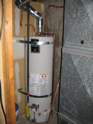 Powell St Water Heater