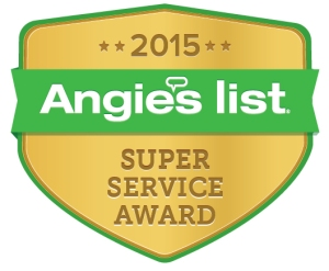 Sutherland Plumbing also won the Angie's List Super Service Award in 2014!!
