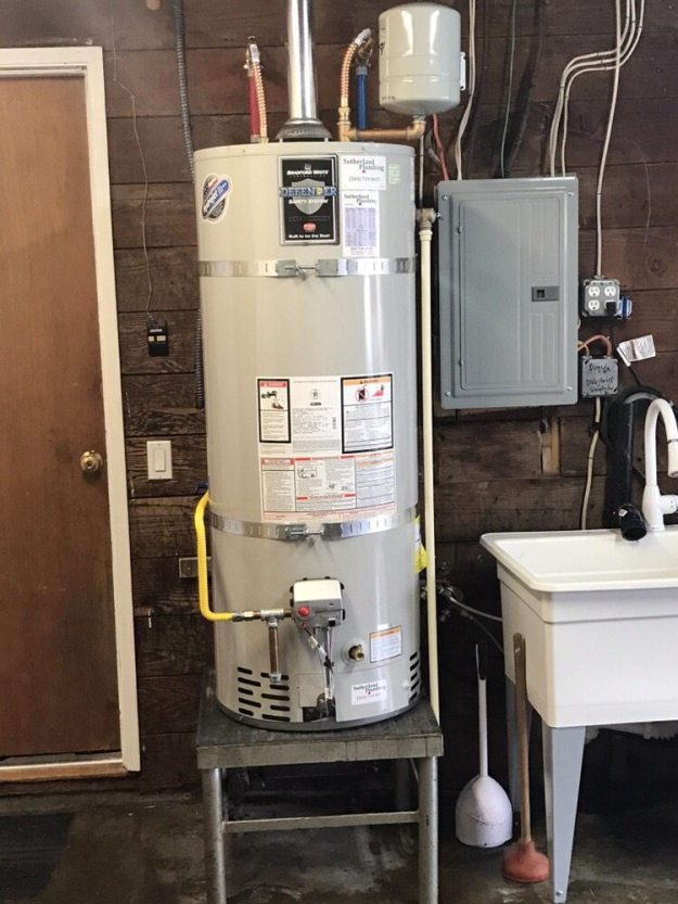 Ge  Gallon Natural Gas Water Heater